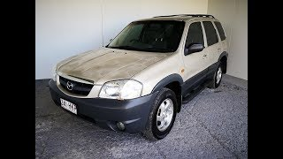 (SOLD) Automatic Cars. 4×4 SUV Mazda Tribute 2003 Review