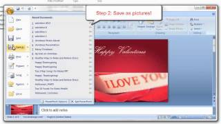 PowerPoint Tips - How to Import PowerPoint Presentation to Windows Movie Maker