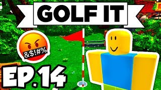 Golf It! Ep.14 - 😡🤬 RAGE & REWARD, ROBLOX BLOCK ISLAND, OOF!!! (Multiplayer Gameplay / Let's Play)