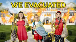 We Had To EVACUATE.. (WE NEED A HOME) | The Royalty Family