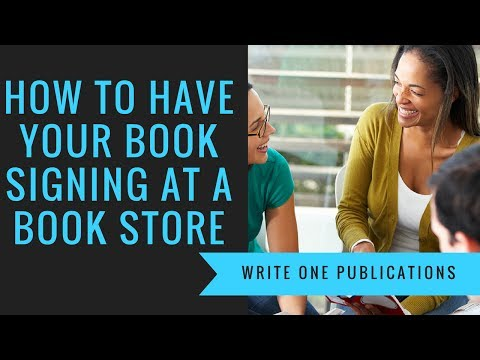 Book Signing Events At Bookstores & Festivals