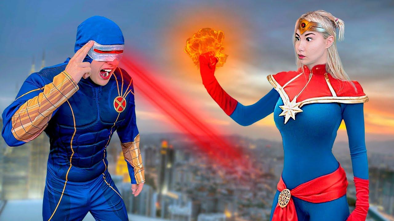 Стали Супергероями на 24 Часа !