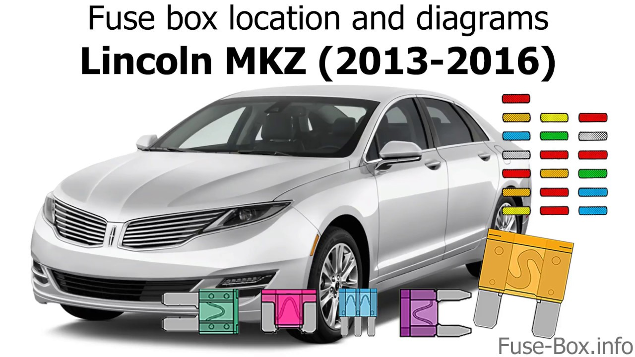 Fuse box location and diagrams: Lincoln MKZ (2013-2016) - YouTubeYouTube