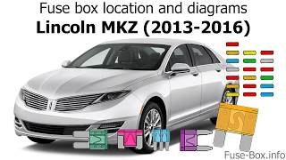 Fuse box location and diagrams: Lincoln MKZ (2013-2016) - YouTube | 2014 Lincoln Mkz Fuse Box Diagram |  | YouTube