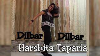 DILBAR DILBAR | SOLO DANCE CHOREOGRAPHY | VIDEO NO. 20 | HARSHITA TAPARIA | FIVESIXSEVENBOOM