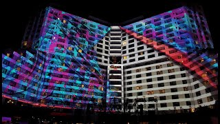 Gambar cover Permanent projection mapping system at Melody Maker Cancun Resort
