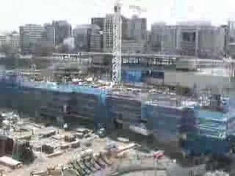 State Library of Queensland timelapse construction video 3
