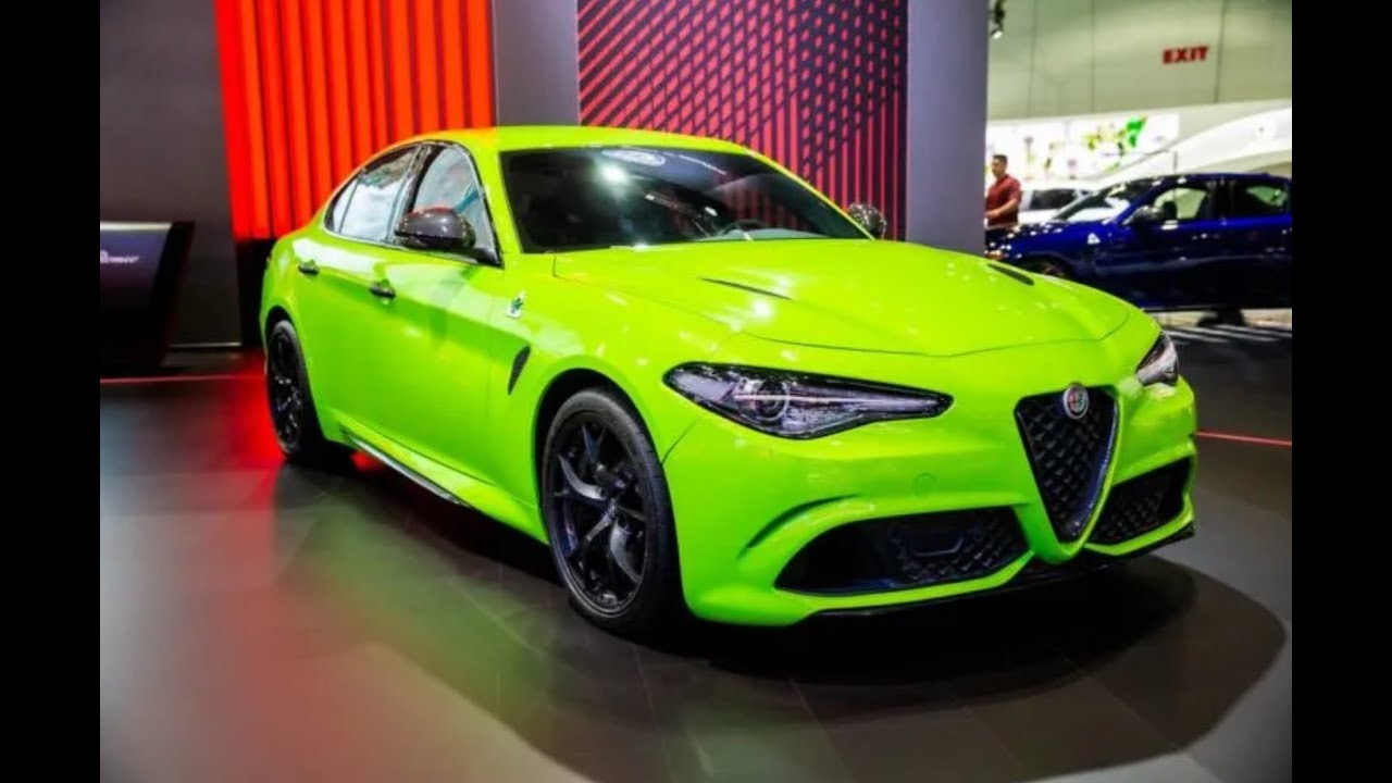 The new Alfa Romeo 2020 touch screen is so much better than the 2019 was!