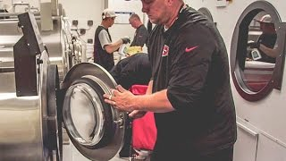 Behind the Scenes with the 49ers Equipment Staff and Players