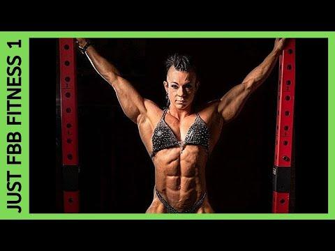 Angela Yeo – Female Bodybuilder Photo Collage
