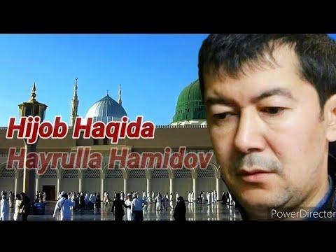 Hijob Kiygan Qizlar Haqida Hayrulla Hamidov