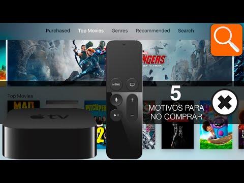 5 motivos para no comprar el nuevo Apple TV
