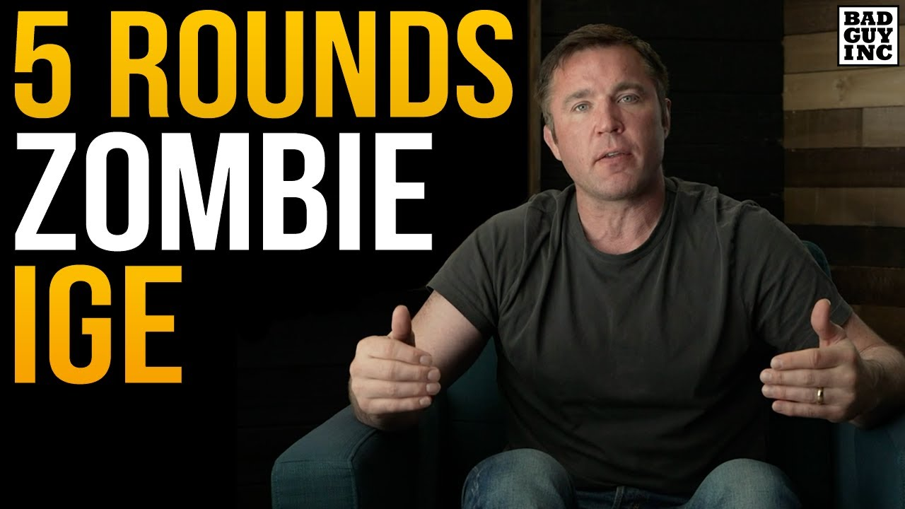 Korean Zombie does NOT want to Fight 5 Rounds…