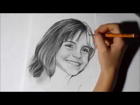 рисунок карандашом : Гарри Поттер