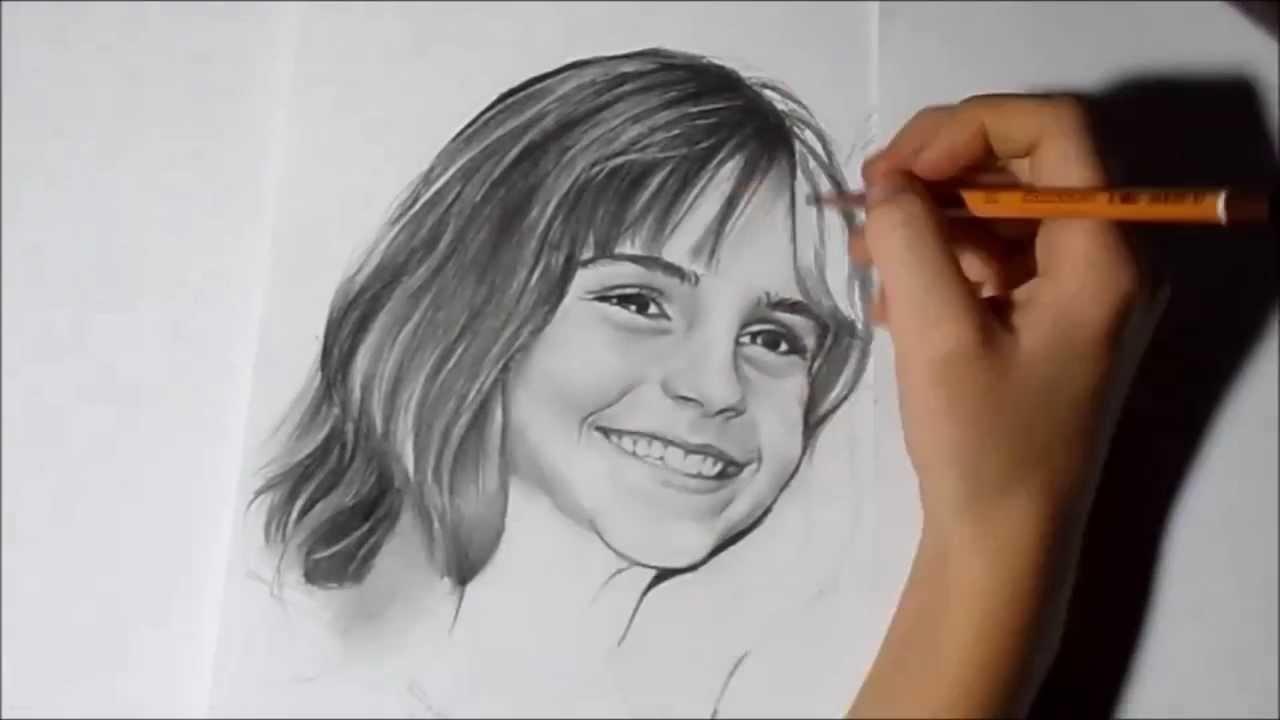 картинки карандашом гарри поттера