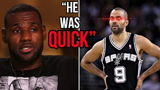 NBA Legends And Players Explain How SCARY GOOD PRIME Tony Parker Was