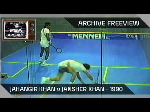 Squash: Jahangir Khan v Jansher Khan - Archive Freeview