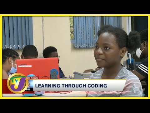 Jamaican Children Learning Through Coding   TVJ News