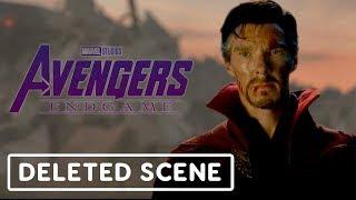 Avengers: Endgame Deleted Scene - The Avengers Honor Tony Stark
