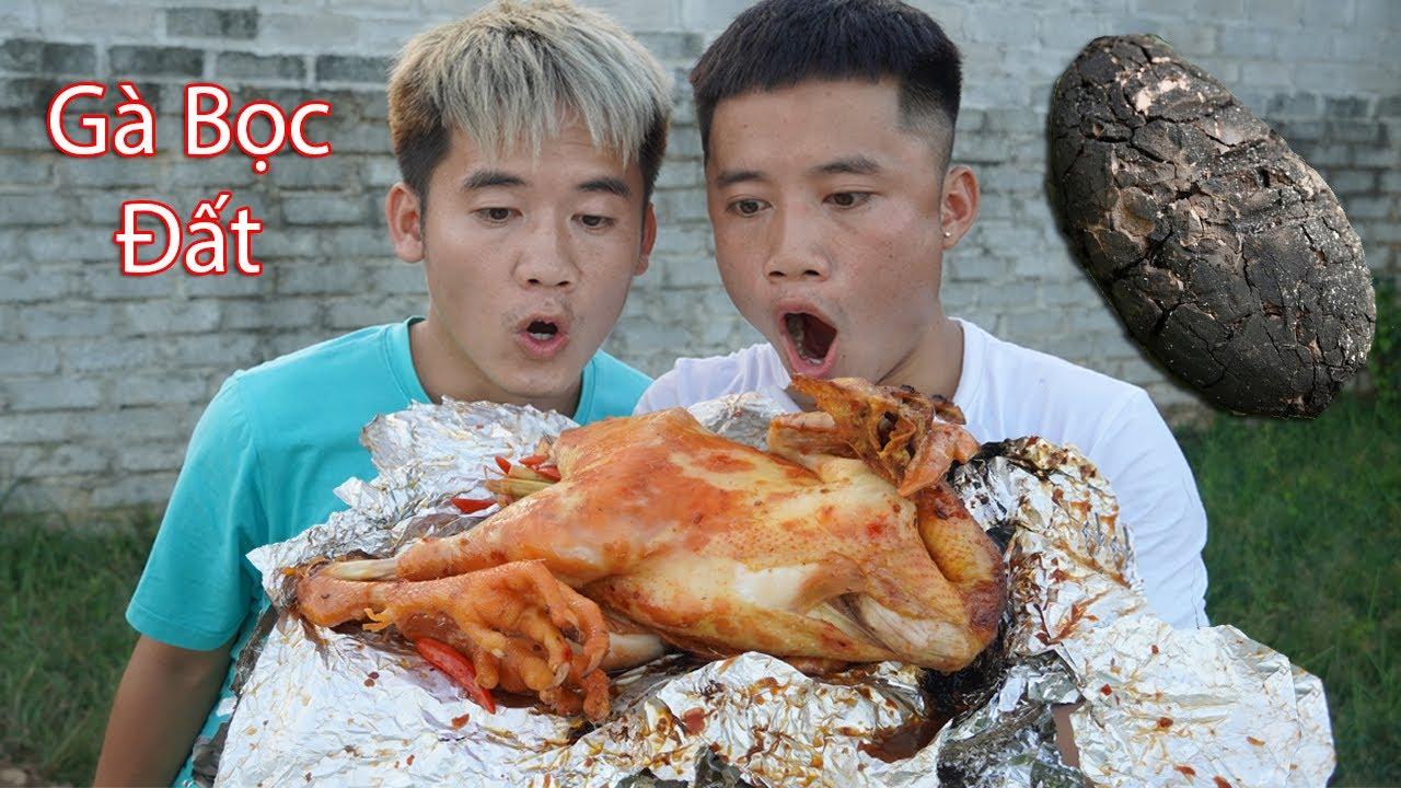 Hưng Troll | Gà Bọc Đất Siêu Cay | BBQ Chicken
