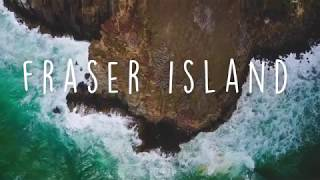 FRASER ISLAND CINEMATIC BEAUTY // PURE DRONE FOOTAGE