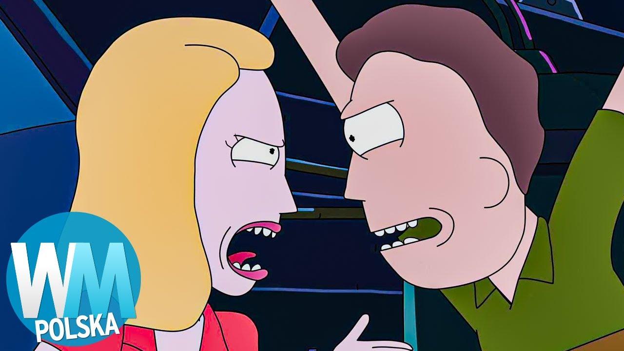 RICK I MORTY: 10 odpałów rodziny Morty'ego
