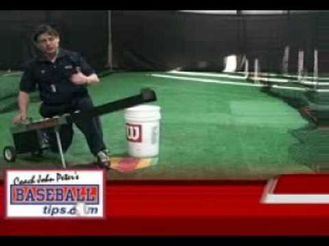 best soft toss machine
