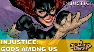 MINHA PRIMEIRA VEZ COM A BATGIRL | Injustice: Gods Among Us | PC Gameplay