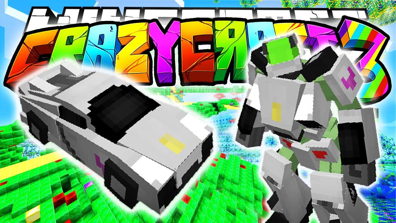 Minecraft crazy craft 3 0 new transformer transformer for Crazy craft 3 0 server