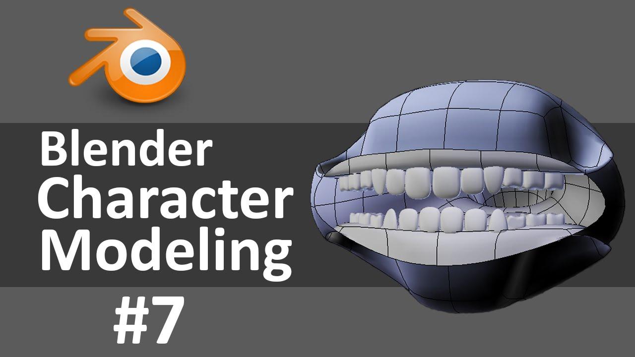 Blender Character Modeling 7 Of 10 : Blender character modeling of youtube