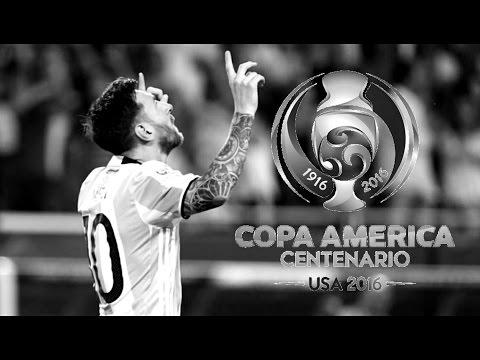 Lionel Messi 2016 • Genio • Jugas, Goles & Asistencias • Copa América • HD