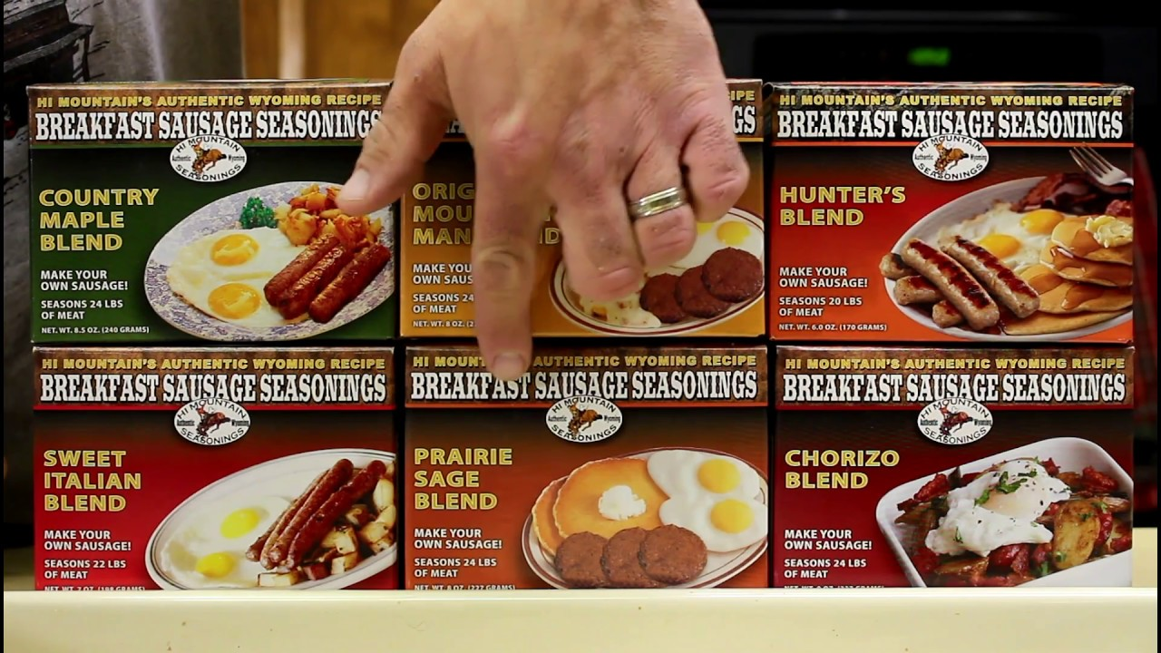 Elk Breakfast Sausage Recipe – Banana Bread Recipe