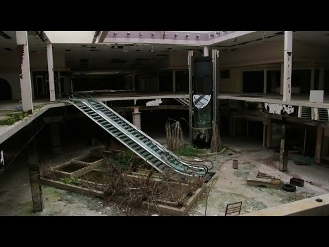 The rise and fall of the American shopping mall