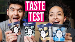 NEW BREYERS LOW CALORIE, PROTEIN ICE CREAM TASTE TEST!
