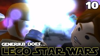 "LEGO STAR WARS The Complete Saga Ep 10 - ""DARTH VADER!!!"""
