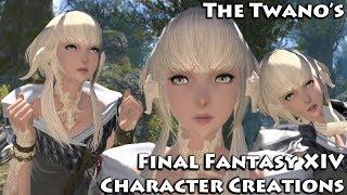 Final Fantasy XIV - la Création de Personnage (Mignon Féminin Au Ra)#4
