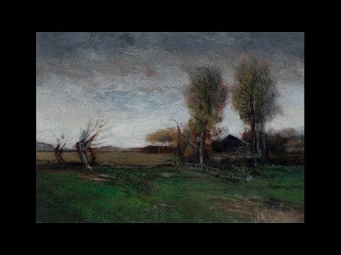 Study by M Francis McCarthy of Landscape 1898 by John Francis Murphy