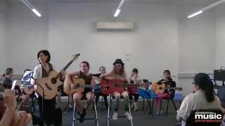 Gambar cover GJ Music Guitar Recital - Yousician Guitar App