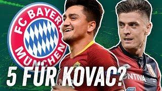 Diese 5 Spieler braucht der FC Bayern! Die Top 5 Transfers für Niko Kovac!
