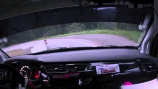 Antoine Massé - Madeline Celso - Rallye du Mont-Blanc 2013 - Arrivée
