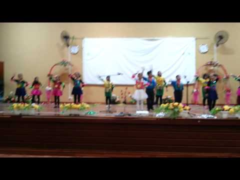 Interschool action song competition 2014 Putrajaya