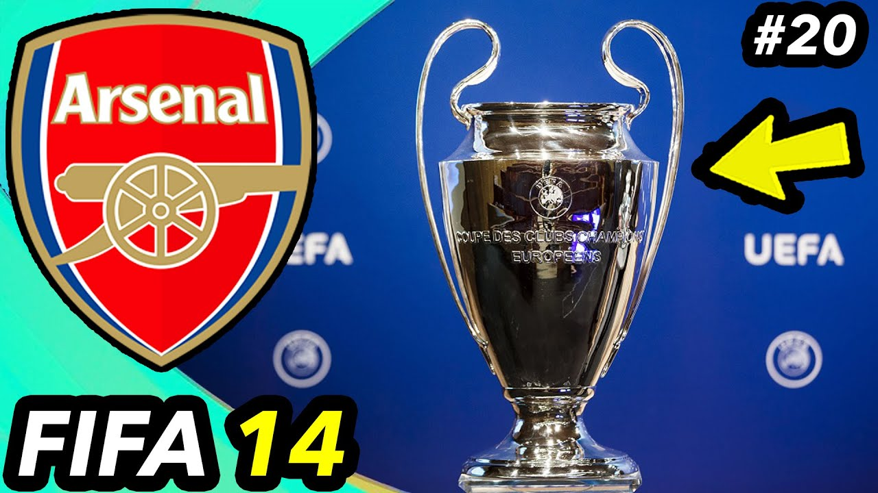 CAN WE WIN THE CHAMPIONS LEAGUE? - FIFA 14 Arsenal Career Mode #20