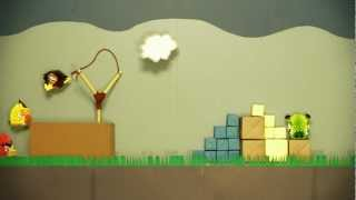 Angry Birds - 3d Origami Game