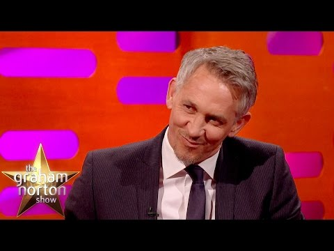 Gary Lineker Was Really Ugly In The 80's - The Graham Norton Show