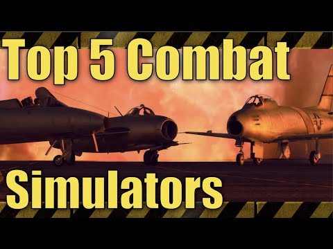 Top 5 Best Combat Simulators Ever | With Amazing Graphics!