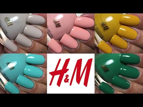 H&M Spring Nail Polish | The Polished Pursuit