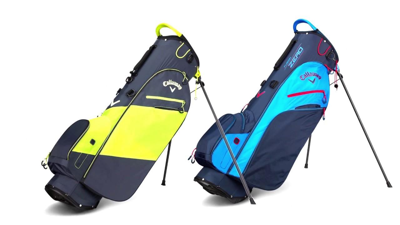 designer fashion good out x various design Callaway Golf | 2018 Hyper-Lite Zero and Fusion Zero Stand Bags ...