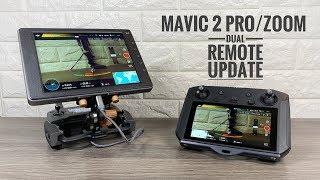 Mavic 2 Dual Remote Update | Smart Controller & Crystal Sky