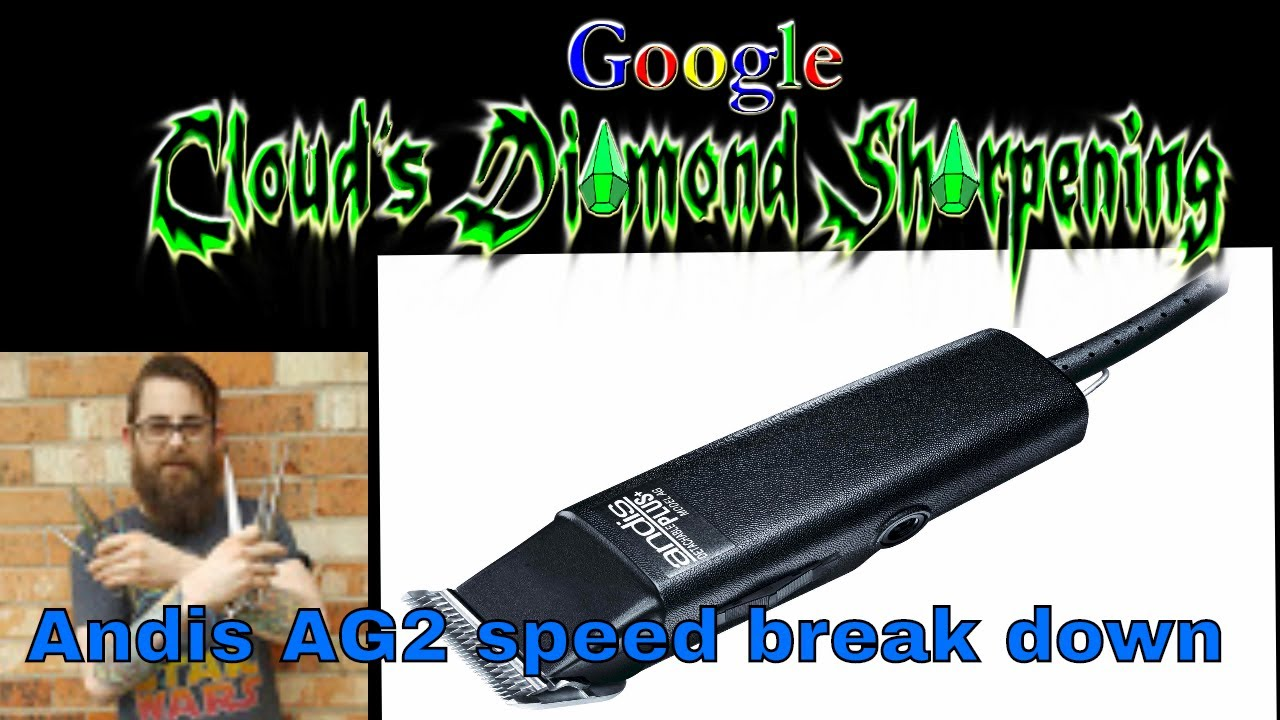 hight resolution of andis ag 2 speed clipper break down and repair