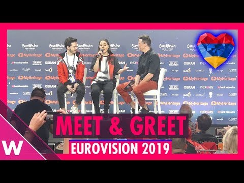 "Armenia Press Conference: Srbuk ""Walking Out"" @ Eurovision 2019 